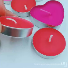 Wholesale Colorful Scented Tealight Candle  in bulk For Wedding Home Decoration Christmas Birthday Party