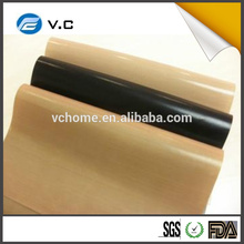 natural and black color thermal insulation ptfe coated Fiberglass cloth
