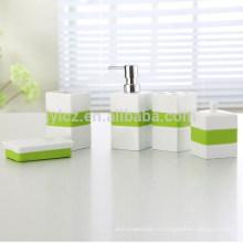 Индивидуальные логотип мода аксессуары полный набор для ванной комнаты Китай
