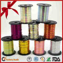 Xmas Wrapping Supplies Customized Colors Christmas Ribbon
