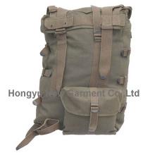 Nova moda ao ar livre masculino militar marrom mochila (hy-b070)