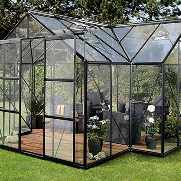 Small Glass Garden  Greenhouse for Family