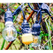 Lumières commerciales extérieures de SL-1029 édition vintage avec des ampoules nostalgiques d'Edison