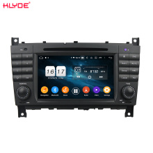 PX6 android car dvd gps for C-Class W203