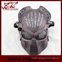 Ziz01 Predator Maske taktische Wargame Maske Full Face Maske