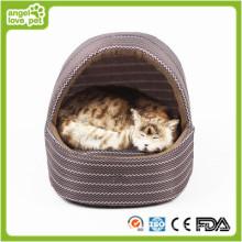 Cama hecha a mano del perro, cama casera de la casa de perro (HN-pH556)