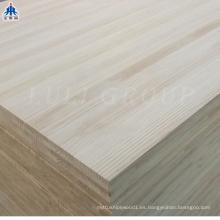 Panel de cola de borde de pino macizo