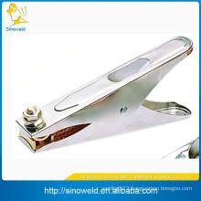 copper earth clamp