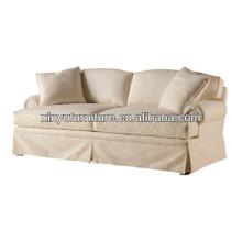 American village style fabric living room sofa