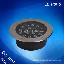 IP65 colorido LED subterrâneo Light com várias formas de cobertura