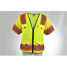 Class 3 ANSI ISEA Approved Safety Vest Breathable High Visiblity