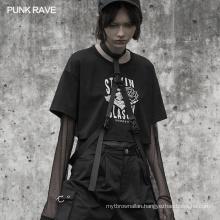 PUNK RAVE OPS-146BDF female women sexy plus size faber punk strap clothing apperal decoration belt accessories
