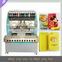 máquina de fabricación de cajas de teléfono de silicona de bajo precio