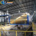Generador de aceite plástico de la pirólisis del neumático de la planta de la pirólisis