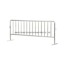 China Wholesale Steel Crowed Control Barrier Pedestrian Barricade Safety Barrier