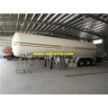 54000 Liters 23ton Used Propane Tanker مقطورات