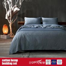 Cotton Hemp Bedding Set for Home Luxury Hotel Use