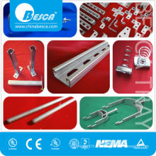 Strut Channel, Clamps, Fittings and Accessories