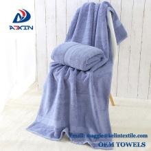 Custom 100% Cotton 70x140cm 400gsm Luxury Dobby Design bath towel