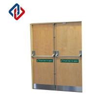 EN1634 120mins 180mins Panic Bar Commercial Modern Fire Doors for The Emergency Exits