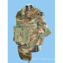 NIJ Iiia UHMWPE Bullet Proof Vest de défense