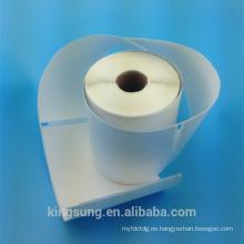 """Etiqueta adhesiva térmica autoadhesiva de 4 """"x6"""""""