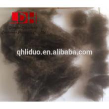 Cor natural Fibra de lã pura de iak