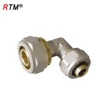L 17 4 8 acessórios de compressão de latão para pex al pex tubos para montagem de tubulação de compressão de tubulação pex