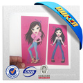 Popular Changing Images for 3D Lenticular Clothing Label