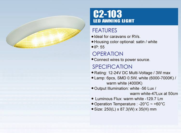 LED Automotive Light