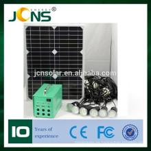 Generador accionado solar solar portable de 20W DC