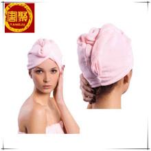 Tampão deque-cabelo mágico de Microfiber confortável, toalha de cabelo rapidamente seca do chuveiro do banho