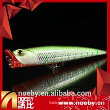 140mm 40g fishing lure blanks popper hard plastic lures