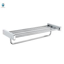 Bathroom Accessory 201 Stainless Steel Towel Rack Hanging Shelf