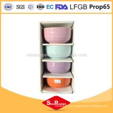 5 polegadas rodada de cerâmica redondo com tiras horizontais para BS10224