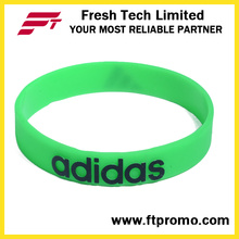 Cadeaux promotionnels OEM Company Silicone Wristband