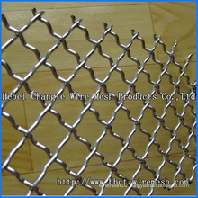 Square Hole Crimped Wire Mesh From Hebei Changte Factory