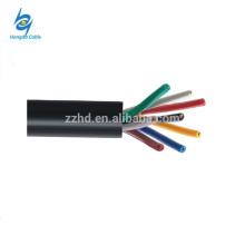 Cable de control electrónico aislado plástico del PVC 750v