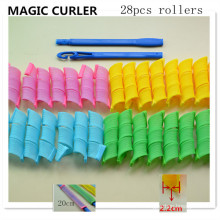 28PC / 20cm Hot Sale Magic Curler (HEAD-35)