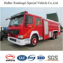 6ton Steyrking camión de bomberos de polvo seco Euro3