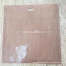 Teflon PTFE coated fiberglass fabric bag for bread baking