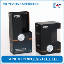 boîte en plastique de prix concurrentiel pour la boîte d'emballage de casque d'écouteur de boîte d'électronique