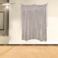 Beau rideau de porte en macramé durable fait à la main