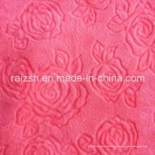 Schnittblumen Coral Fleece Stoffe für Heimtextilien