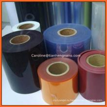 Красочные Жесткий пластиковый лист ПВХ мебели методом вакуумного Термоформования пленка ПВХ