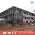 Construcción prefabricada de diseño industrial Estructura de acero almacén