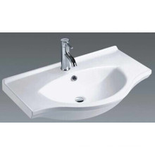 Casa de banho Ceramic Vanity Basin Cabinet Basin (1080)