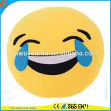 Hot Selling novedad diseño emocionante almohada EmojiPlush con expresión facial