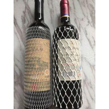 Rotweinflasche Weinbeutel