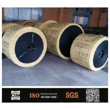 PVG de PVC ignífugo sólido tejido cinta transportadora
